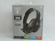 Turtle Beach Recon 200 Wired Gaming Headset Xbox One Playstation 4 5 Nintendo