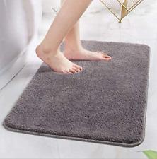 Bath Mat Bathroom Door Floor Rugs Thick Non Slip Super Soft Shaggy Plush Carpet