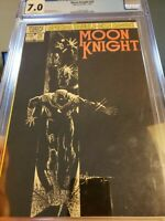 MOON KNIGHT #25 - CGC 7.0 WHITE PAGES - 1982 - 1ST APPEARANCE OF BLACK SPECTRE