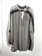 Mens Size XLT * ADIDAS * Gray Pullover Blindside Hoodie NWT Basketball