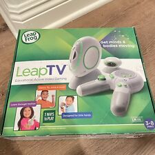 LeapFrog LeapTV Educational Video Gaming System NEW IN OPEN BOX