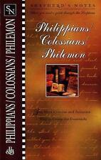 Shepherd's Notes Philippians, Colossians, Philemon by Dana Gould Brand New!