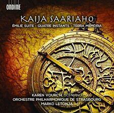 Kaija Saariaho: Émilie Suite, Quatre Instants, Terra Memoria, New Music