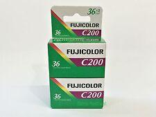 4 rolls Fuji C200 35mm 36exp Color Film 135-36 twin pack