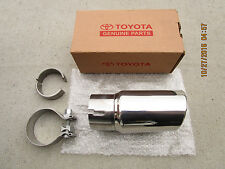10 - 16 TOYOTA 4RUNNER LIMITED SPORT STAINLESS STEEL EXHAUST TIP OEM NEW 89100