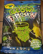 Crayola, Glow Explosion - 1 GLOW ACTIVATOR, 1 GREEN GLOW MARKER & 4 SCENES