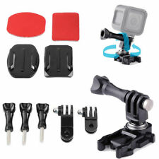 360 Rotatable Ball Joint Buckle Adapter Helmet Surface Mount For Gopro 5 4 3 2 1