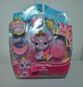 NEW JAKKS DISNEY Palace Pets Whisker Haven Ash Glitzy Glitter Pink DRAGON