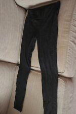 Futuro Fashion Black Leggings Size 24 4XL NEW