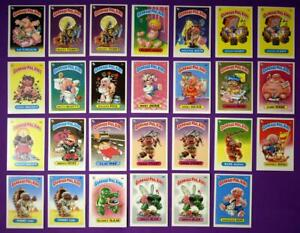 1986 1ST SERIES GARBAGE PAIL KIDS GPK UK MINI - NRMT - YOUR CHOICE - $2.99 EA