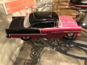 1955 Chevy Bel Air Pro Street Danbury Mint Large 1:16 Die Cast 55 Chevrolet Race