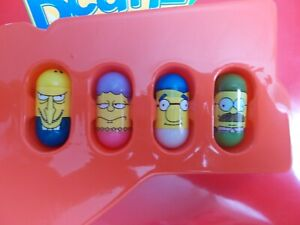 Mighty Beanz The Simpsons 4 Bean Lot #31 Montgomery Burns Mr. Burns, & 3 More!