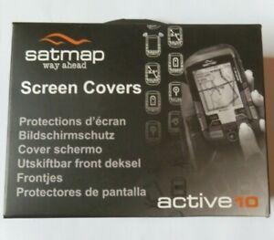 Satmap 10 Screen Covers Box of 3