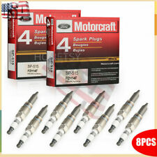 8PCS Motorcraft Platinum Spark Plugs SP-515 For FD F150 5.4L PZH14F SP546 US