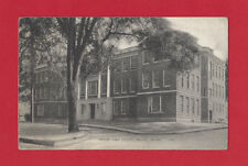 Maine Belfast Crosby High School Vintage Original 1946 B & W Postcard US Army Re