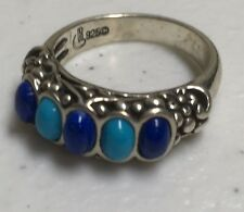 Carolyn Pollack Turquoise Sterling Ring