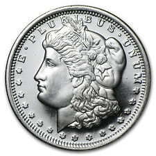 1/2 oz Silver Round - Morgan Dollar Design - SKU #32226