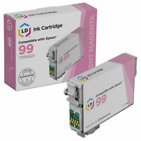 LD Reman T099620 for Epson T099 99 Light Magenta Ink Cartridge Artisan 700 800