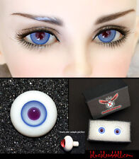 14mm sky blue with violet high quality glass bjd doll eyes dollfie YS-25 ship US