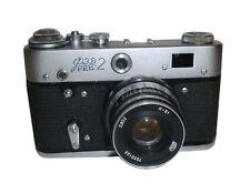 Leica Fed 2 35mm Rangefinder Film Camera with 50mm Lens Kit