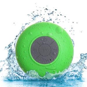 Bluetooth Wireless Speaker Waterproof Mic Mini Resistant Shower Potable Out C6