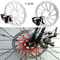 BMX Mechanical MTB Bicycle Bike Disc Brake Front and Rear Set w/ 160mm G3 Rotors