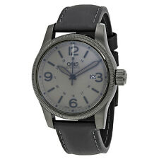 Oris Big Crown Date Pointer Grey Dial Automatic Mens Watch 733-7629-4263LS