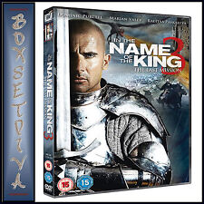 IN THE NAME OF THE KING 3 - Dominic Purcell  *BRAND NEW DVD *