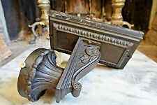 Antique CAST IRON VICTORIAN SCONCE LIGHT INDUSTRIAL LAMP Outdoor Porch WORKS