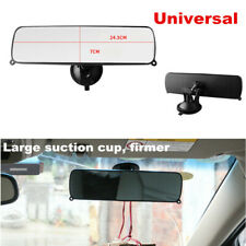 1pcs Rear View Suction Cup Driving Instructor Mirror Wide Angle Universal Fit