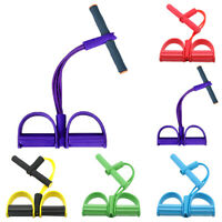 Fitness Elastic Sit Up Pull Rope Abdominal Exerciser Home Sport Equipment Gym