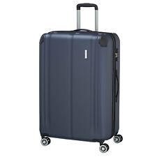 Travelite City 4w marine 77cm 124l 4rad trolley viaje maleta equipaje ampliable