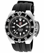 Luminox 1512 Men's Deep Dive Automatic Black Silicone Black Dial