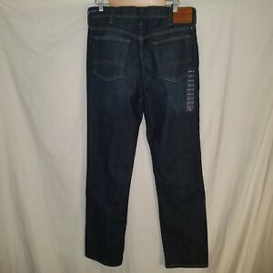 Lucky Brand Athletic Slim Dark Wash Jeans NWT 36x34 34x34 Stretch High Rise 410