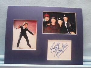 Scott Hamilton wins the Gold in the 1984 Winter olympics & his autograph