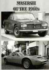 MASERATI OF THE 1960s
