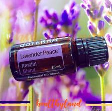 doTERRA Lavender Peace Serenity 15ml Therapeutic Essential Oil Aromatherapy