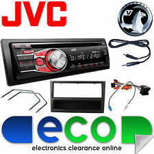 Vauxhall Corsa C 2004-2006 JVC Car Stereo Radio Upgrade Kit CD MP3 AUX Black