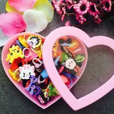 45pcs Mixed Rings Cute Cartoon Super Hero Kids Boys Girls Party Gifts US STOCK