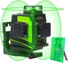 Huepar 3D Verde autonivelante nivel láser 150ft Herramienta De Alineación Láser de línea cruzada