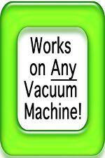 2 ROLLS! GIANT 11 x 50 ROLL 4 mil Vacuum Sealer roll- Food & $ Saver!