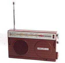 Russia 303 Russian Portable Radio Receiver USSR Works MW AM LW SW Rossiya