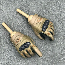 GWG-011. 1/6th scale British Army gloved hands
