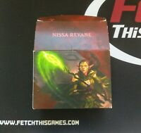 1 Empty Deck Box - NISSA REVANE- PLANESWALKER  - NM/SP Condition - Magic MTG FTG