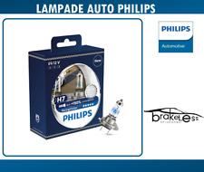 COPPIA KIT LAMPADE PHILIPS H7 X-TREME Racing Vision 150% più luce cod. 12972RVS2