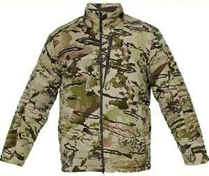 Under Armour Men's Timber Jacket Hunting Barren Camouflage Black XL Large $220
