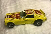 Hot Wheels Redline Vintage 1969 Show Hoss Mustang II Funny Car YELLOW blackwalls