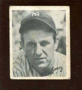 1936 Goudey Baseball Card HOFER Lefty Gomez New York Yankees