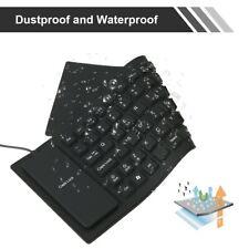 85 Key Flexible USB Keyboard Silicone Foldable Laptop Notebook Keyboard OZ