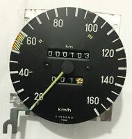 Mercedes-Benz W123 Odometer Speedometer 160 km/h DIESEL VDO 1235425601 | OEM